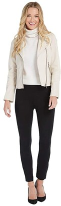 Spanx The Perfect Black Pant, Ankle Backseam Skinny (Classic Black) Women's Casual Pants