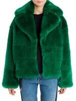 MSGM Faux Fur Short Coat