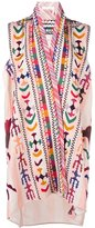 Chloé embroidered tunic - women - Silk/Cotton/Linen/Flax - 38