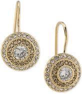 Lauren Ralph Lauren Gold-Tone Crystal Drop Earrings