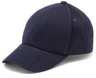 Paul Smith Signature Stripe-patch Cotton-twill Baseball Cap - Mens - Navy