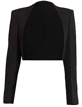 Givenchy Women's Wool Long-Sleeve Bolero Jacket