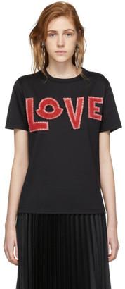 MONCLER GENIUS 2 Moncler 1952 Black Love T-Shirt