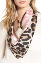 Kate Spade Women's Cheetah Silk Square Scarf