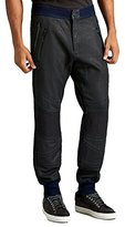 True Religion Men's Color Coated Terry Moto Sweatpants