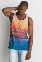 American Eagle Outfitters AE Active Graphic Mesh Tank Top