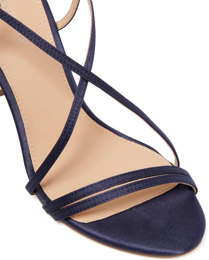 Forever New Amelia Strappy Stiletto Heels - Navy - 39