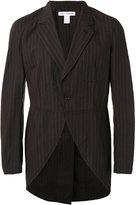 Comme des Garcons pinstripe jacket - men - Cotton - M