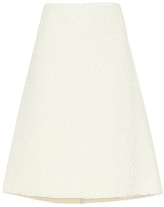 Bottega Veneta Wool-blend boucle skirt