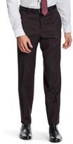 Ted Baker Jarret Brown Pin Dot Suit Separates Wool Trouser