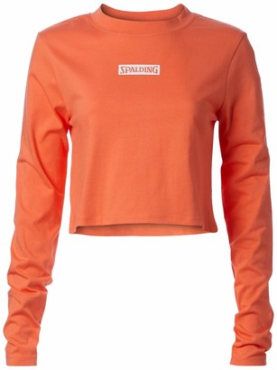 Spalding Women's Activewear Heritage Super Soft Jersey Long Sleeve Tee