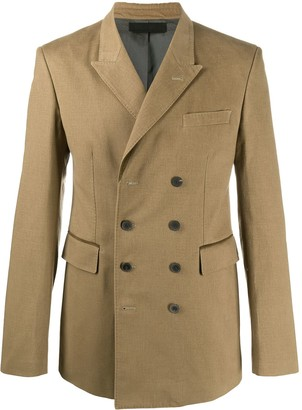 Haider Ackermann Fitted Double-Breasted Coat