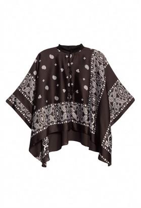 Sacai Short-Sleeve Bandana Loose Fit Shirt