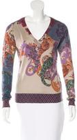 Etro Silk & Cashmere Sweater