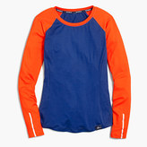 New Balance for J.Crew in-transit long-sleeve T-shirt in colorblock
