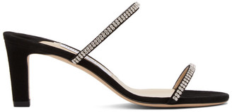 Jimmy Choo Black Brea 65 Heeled Sandals