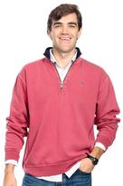 Castaway Clothing Weathered Red Breakwater Quarter Zip Pullover