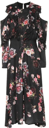 Preen by Thornton Bregazzi Penny floral silk dress