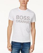 HUGO BOSS BOSS Orange Men's Logo-Print T-Shirt