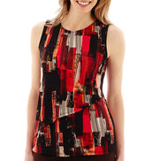 Liz Claiborne Sleeveless Double-Layer Tunic