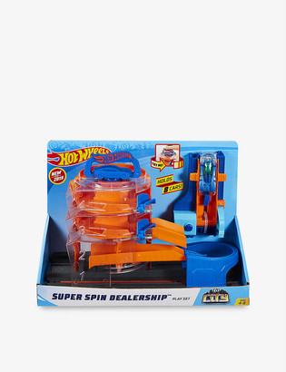 Hot Wheels City Super Spin playset