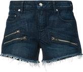 Derek Lam 10 Crosby zipped denim shorts