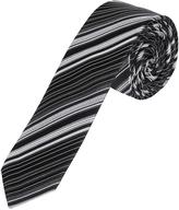 Oxford Silk Tie Stripes Skny Blu X