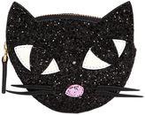 Lulu Guinness Glitter Kooky Cat Coin Purse