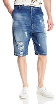 Vivienne Westwood Men's Distressed Drop-Crotch Short