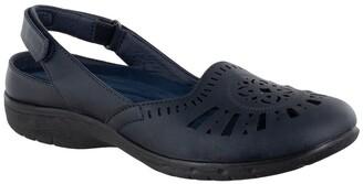 Easy Street Shoes Meg Comfort Slingback Flat - Multiple Widths Available