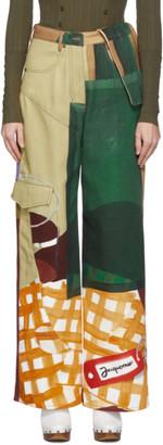 Jacquemus Multicolor Le Jean De Nimes Jeans