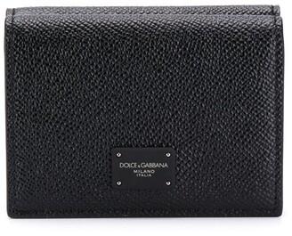 Dolce & Gabbana Logo Bi-Fold Wallet