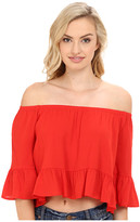 Show Me Your Mumu Shirley Ruffle Top