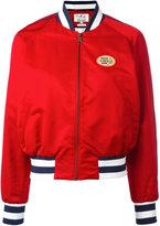 Tommy Hilfiger printed varsity jacket