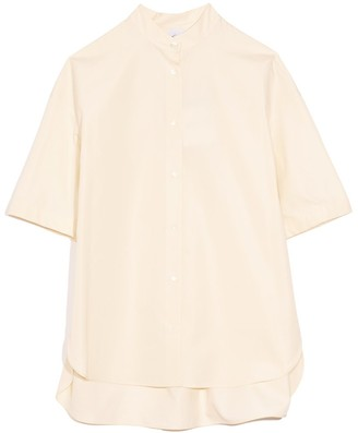 Aspesi Short Sleeve Top in Cream