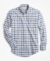 Brooks Brothers Non-Iron Regent Fit Multi-Gingham Dobby Sport Shirt