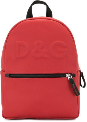 Dolce & Gabbana Kids Logo-Embossed Backpack