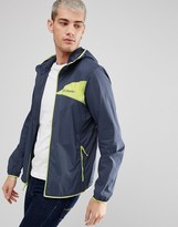 Columbia Addison Park Windbreaker Jacket Lightweight In Zinc