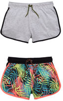 Very Sporty Essentials Pack Of Two Shorts in Multi Size 5-6 Years
