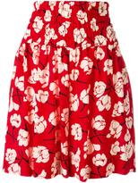 Rochas floral print shorts - women - Silk - 40