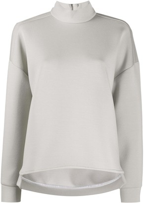 Max Mara High Neck Boxy Jumper