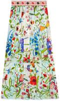 Gucci Unskilled Worker silk skirt