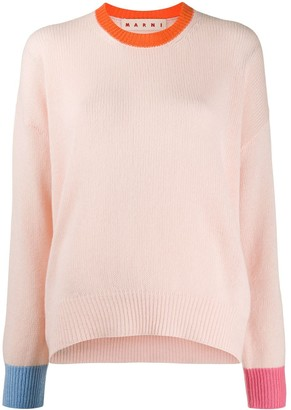 Marni knitted long sleeve top