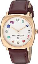 Marc Jacobs Women's 'Mandy' Quartz Stainless Steel and Leather Casual Watch