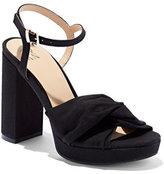 New York & Co. Faux-Suede Platform Sandal