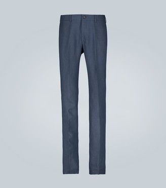 Ralph Lauren Purple Label Knightsbridge linen pants