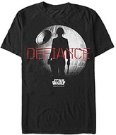 Star Wars Men's Rogue One Jyn Death Defiance Graphic T-Shirt