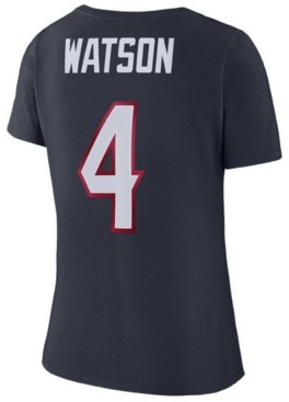Nike Women's DeShaun Watson Houston Texans Player Pride 3.0 T-Shirt