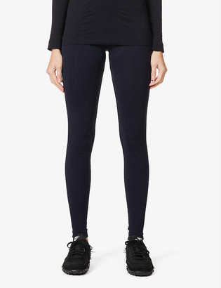 FALKE ERGONOMIC SPORT SYSTEM Warm high-rise stretch-woven leggings