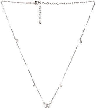 Gucci GG Running Necklace in 18KT White Gold & Diamonds | FWRD